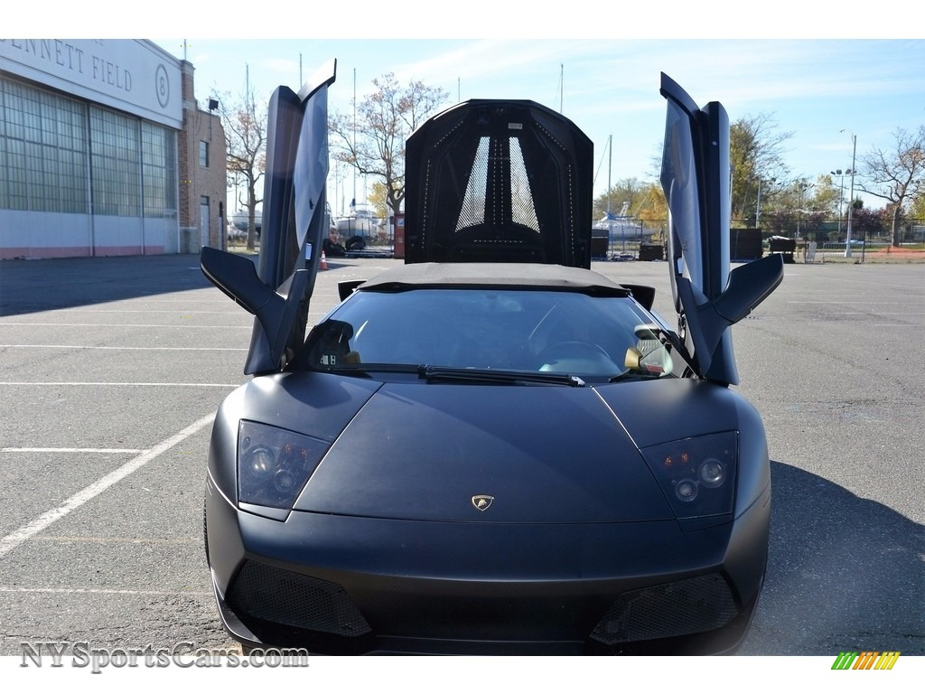 2008 Murcielago LP640 Roadster - Nero Aldebaran / Nero Perseus photo #35
