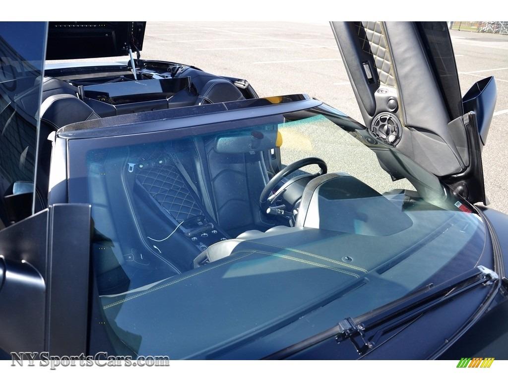 2008 Murcielago LP640 Roadster - Nero Aldebaran / Nero Perseus photo #41
