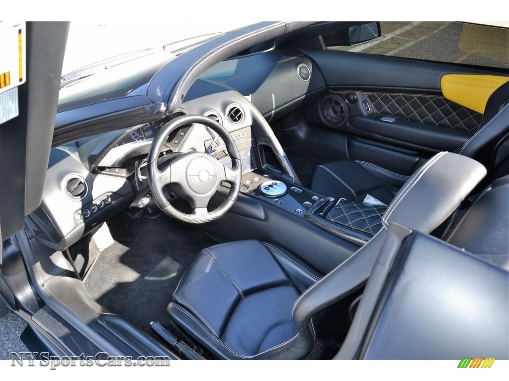 2008 Murcielago LP640 Roadster - Nero Aldebaran / Nero Perseus photo #44