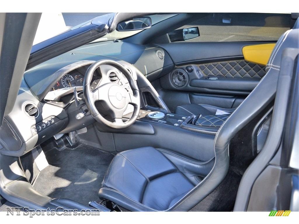 2008 Murcielago LP640 Roadster - Nero Aldebaran / Nero Perseus photo #46