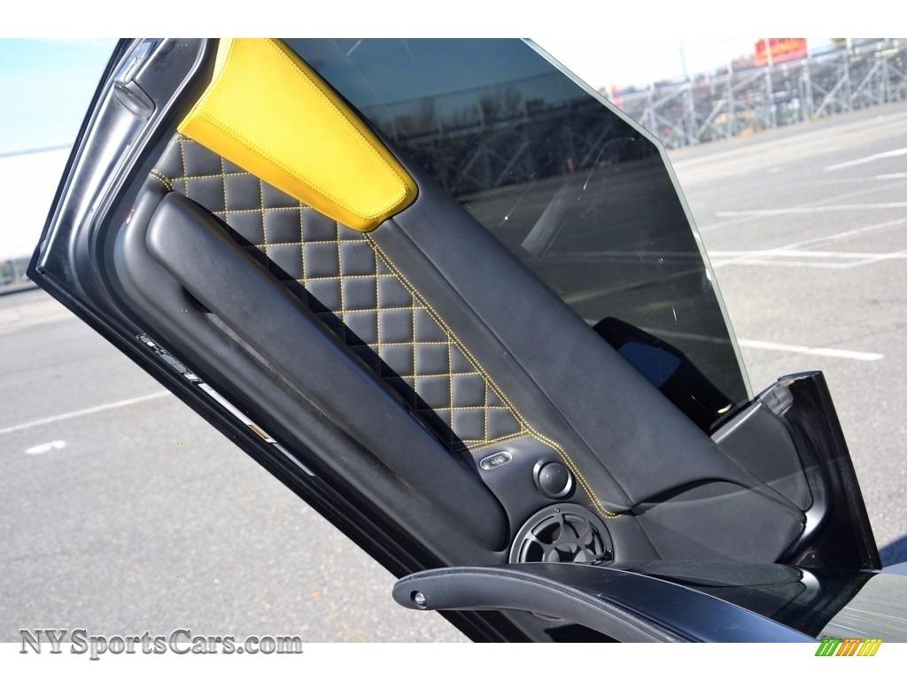 2008 Murcielago LP640 Roadster - Nero Aldebaran / Nero Perseus photo #53