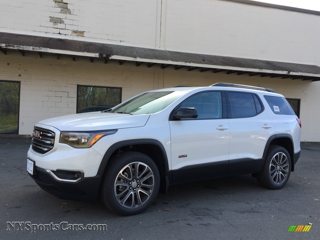 2017 gmc acadia all terrain slt awd in summit white 178773 cars for sale. Black Bedroom Furniture Sets. Home Design Ideas