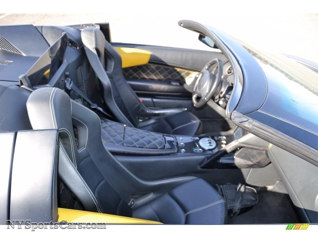 2008 Murcielago LP640 Roadster - Nero Aldebaran / Nero Perseus photo #63