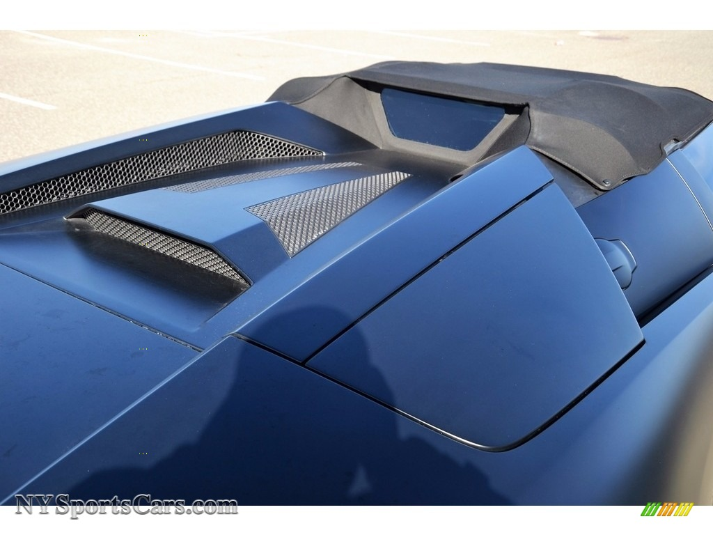 2008 Murcielago LP640 Roadster - Nero Aldebaran / Nero Perseus photo #71