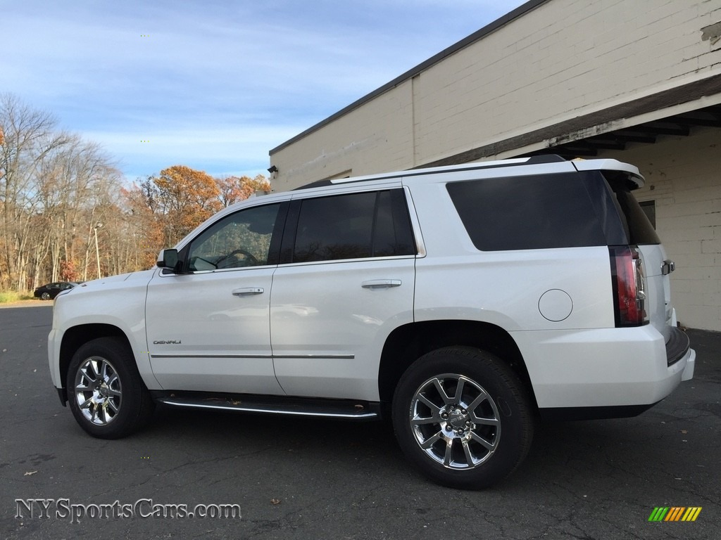2017 Gmc Yukon Denali 4wd In White Frost Tricoat Photo 6 134950 Nysportscars Com Cars For Sale In New York