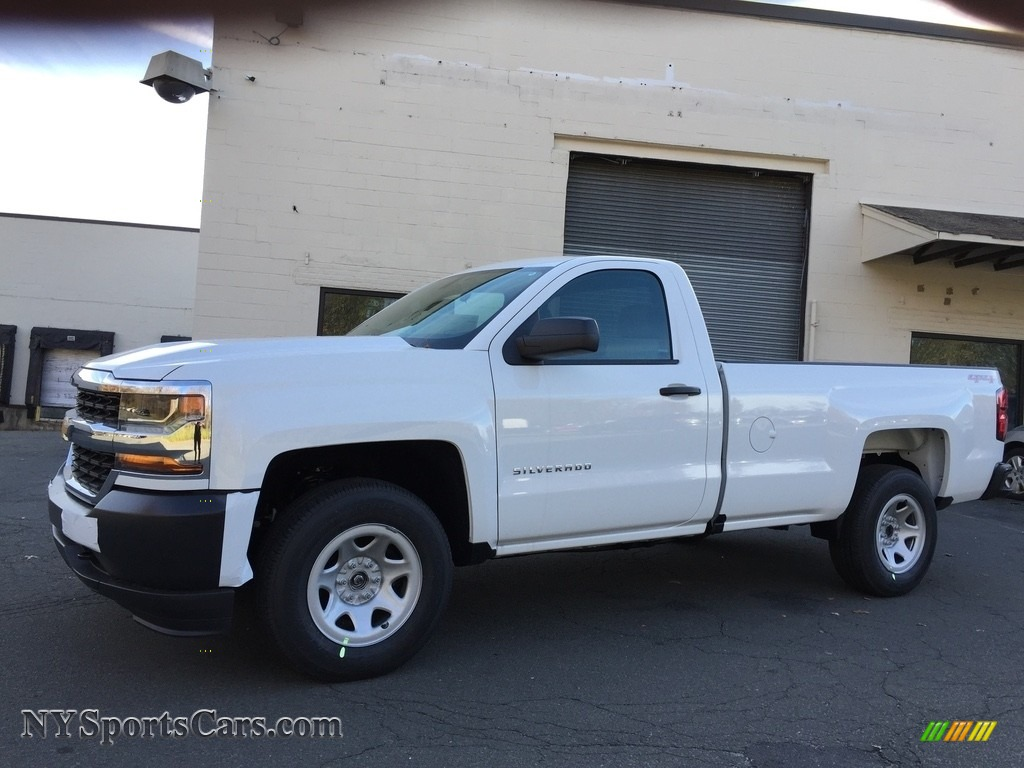 2017 Silverado 1500 WT Regular Cab 4x4 - Summit White / Dark Ash/Jet Black photo #1