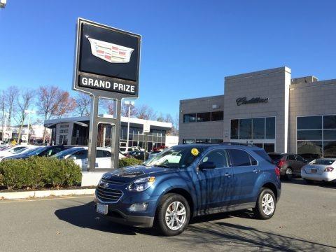 Patriot Blue Metallic 2017 Chevrolet Equinox LT AWD