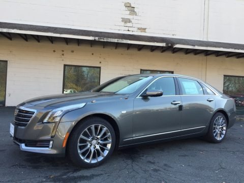 Moonstone Metallic 2017 Cadillac CT6 3.0 Turbo Luxury AWD Sedan