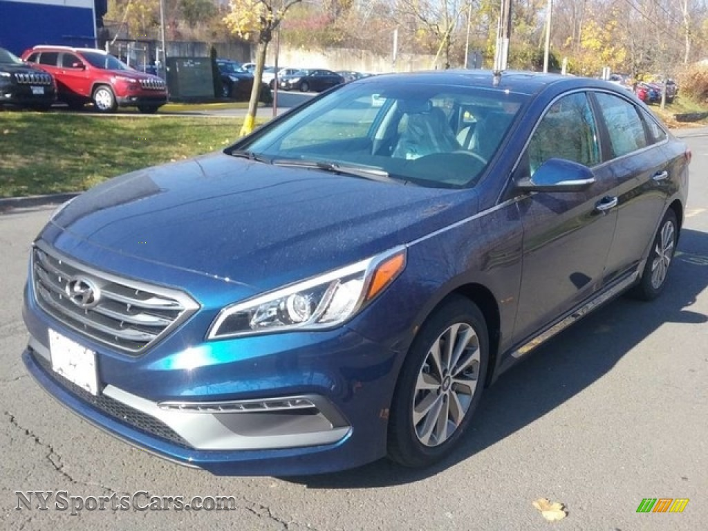 2017 Sonata Sport - Lakeside Blue / Gray photo #1