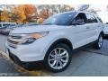 Ford Explorer XLT 4WD White Platinum photo #1