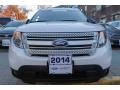 Ford Explorer XLT 4WD White Platinum photo #2