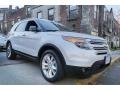 Ford Explorer XLT 4WD White Platinum photo #8