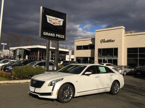 Crystal White Tricoat 2017 Cadillac CT6 3.0 Turbo Premium Luxury AWD Sedan