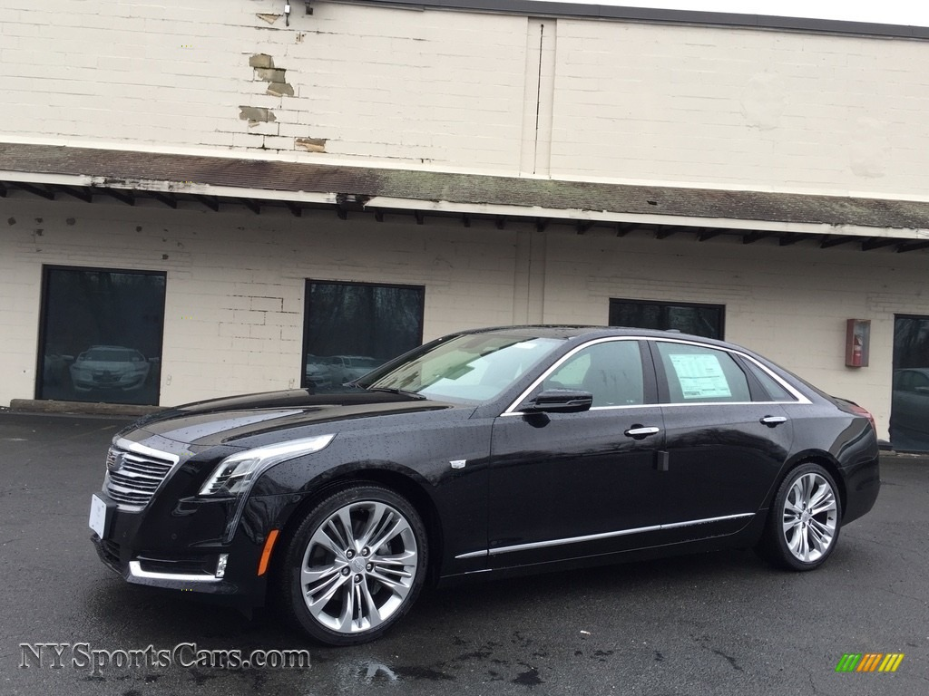 2017 CT6 3.0 Turbo Platinum AWD Sedan - Black Raven / Jet Black photo #1