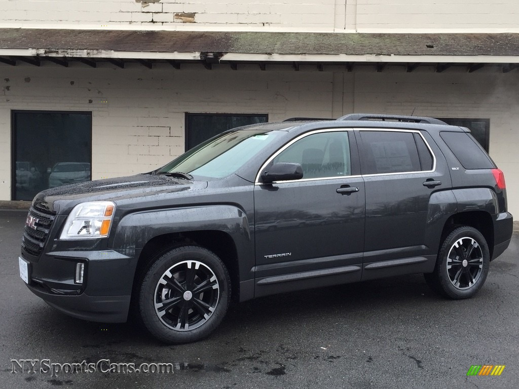 2017 gmc terrain slt awd in graphite gray metallic 244157 cars for sale. Black Bedroom Furniture Sets. Home Design Ideas