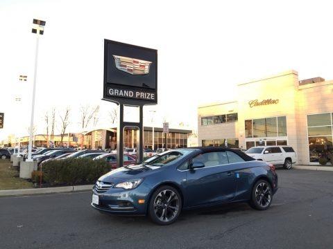 Deep Sky Metallic 2017 Buick Cascada Premium