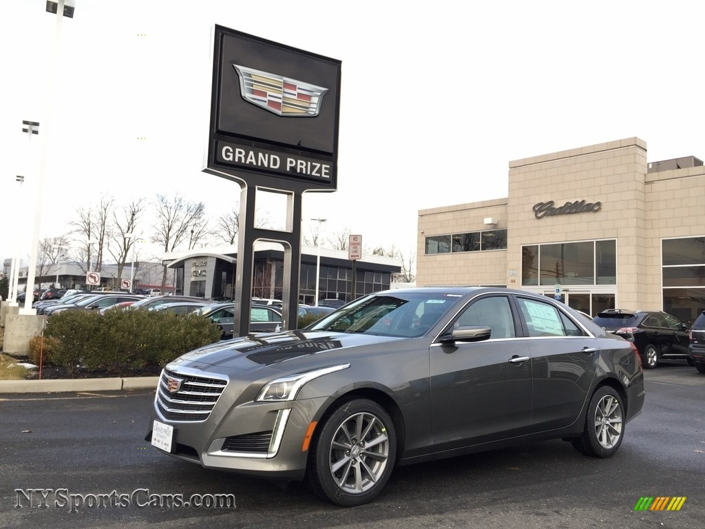 Bronze Dune Metallic / Jet Black Cadillac CTS Luxury AWD