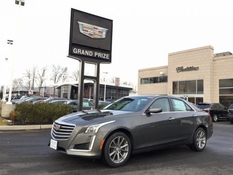 Bronze Dune Metallic 2017 Cadillac CTS Luxury AWD