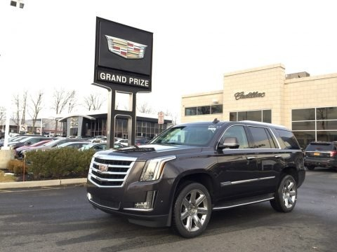 Dark Granite Metallic 2017 Cadillac Escalade Luxury 4WD