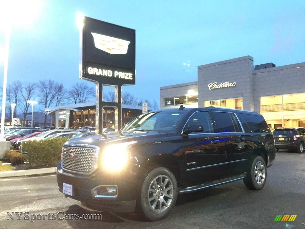 2017 Yukon XL Denali 4WD - Onyx Black / Jet Black photo #1