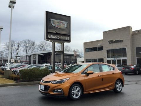 Orange Burst Metallic 2017 Chevrolet Cruze LT