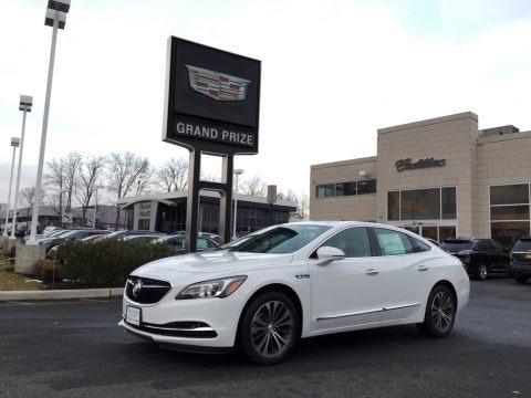 Summit White 2017 Buick LaCrosse Essence