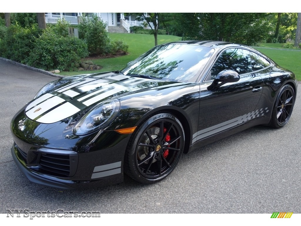 Black / Black Porsche 911 Carrera S Coupe