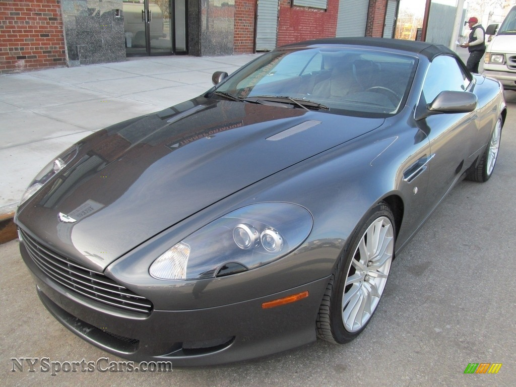 2006 DB9 Volante - Grey Metallic / Falcon Gray photo #1