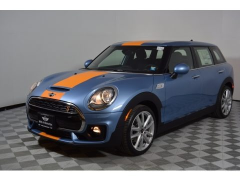 Digital Blue Metallic 2017 Mini Clubman Cooper S ALL4