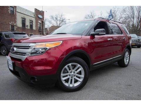 Ruby Red 2014 Ford Explorer XLT 4WD