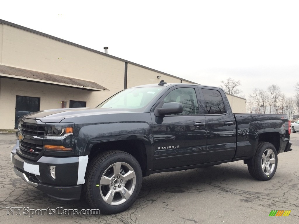 2017 chevrolet silverado 1500 lt double cab 4x4 in graphite metallic 180327. Black Bedroom Furniture Sets. Home Design Ideas