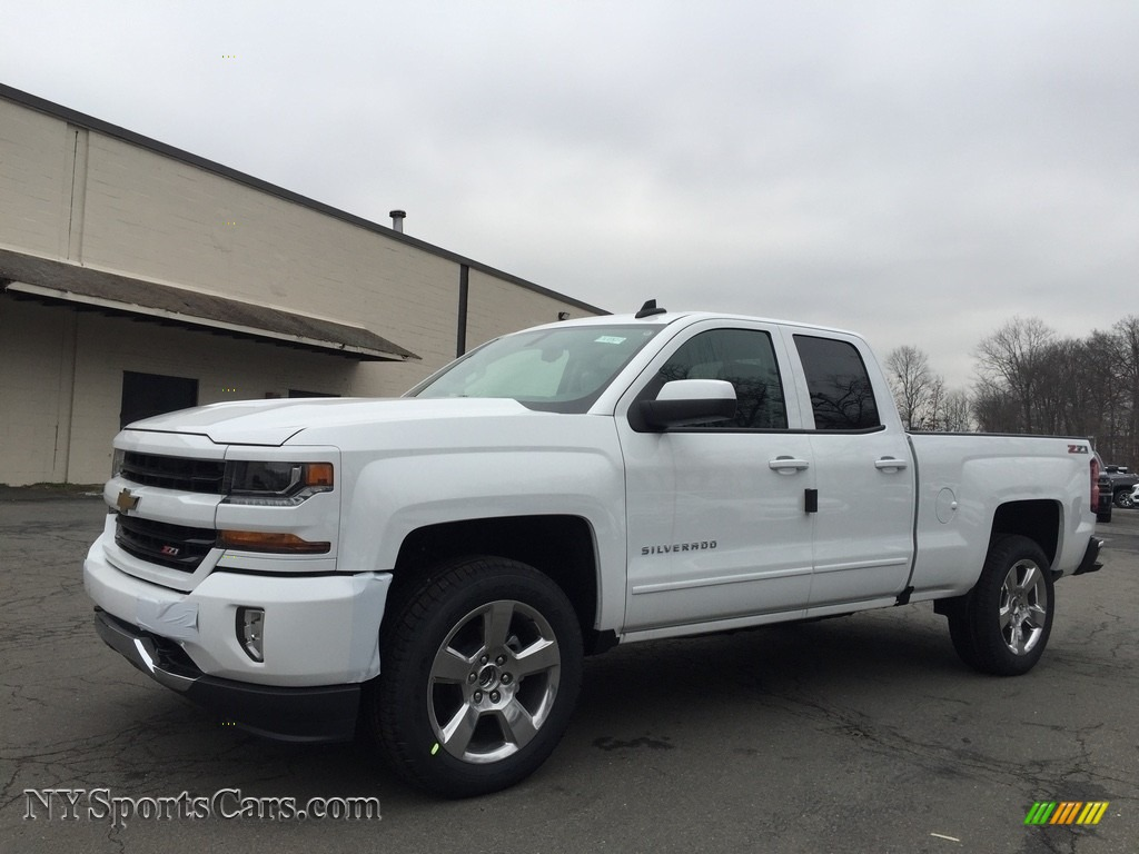 2017 chevrolet silverado 1500 lt double cab 4x4 in summit white 176341. Black Bedroom Furniture Sets. Home Design Ideas