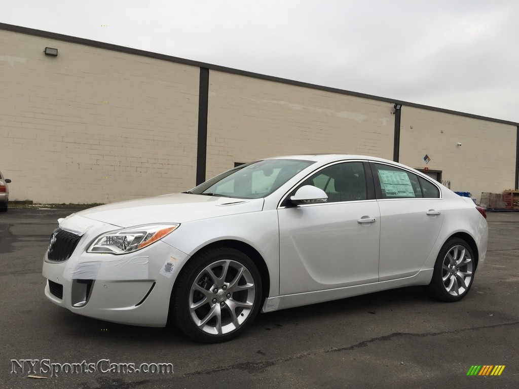 2017 Buick Regal Gs Awd In White Frost Tricoat 146939