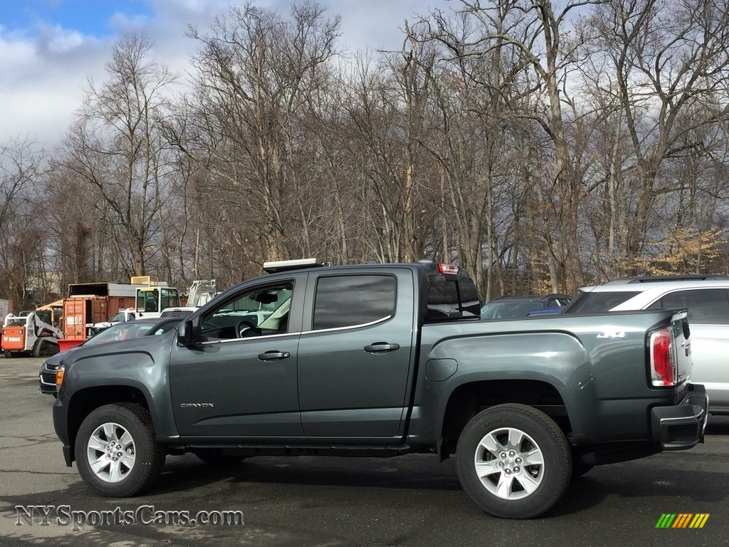 2017 gmc canyon sle crew cab 4x4 in dark slate metallic photo 5 151256. Black Bedroom Furniture Sets. Home Design Ideas