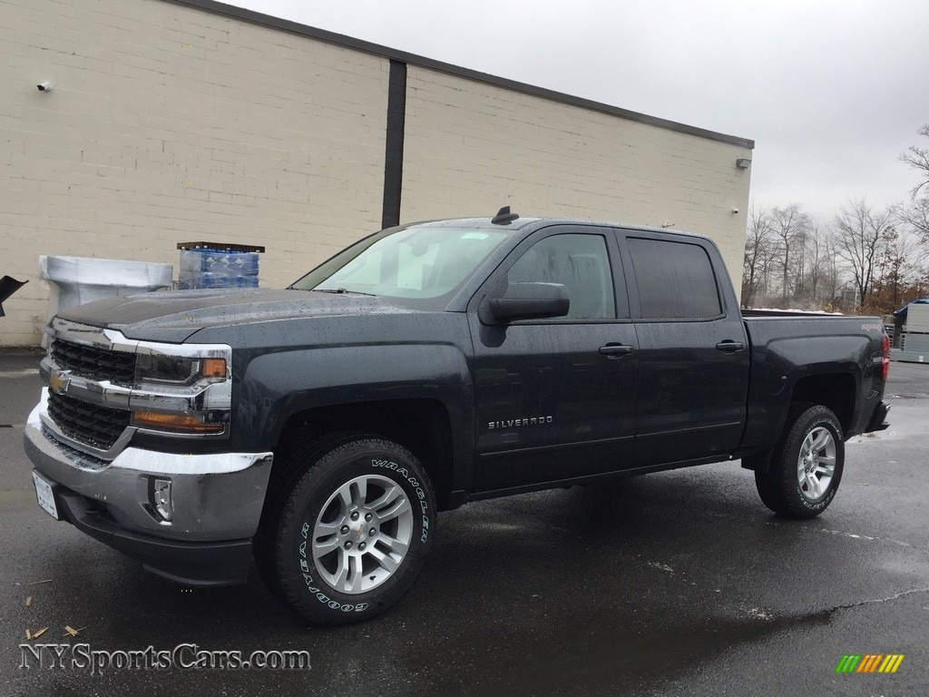 2017 chevrolet silverado 1500 lt crew cab 4x4 in graphite metallic 265721. Black Bedroom Furniture Sets. Home Design Ideas