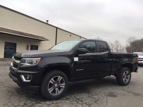 Black 2017 Chevrolet Colorado LT Extended Cab 4x4