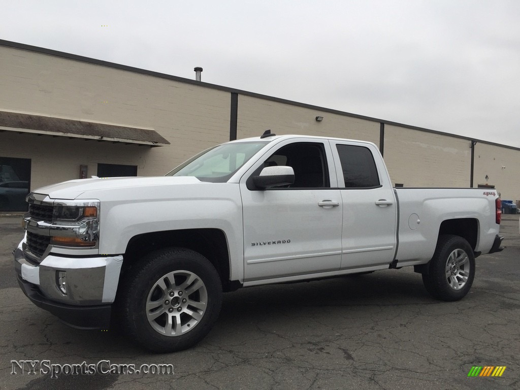 2017 chevrolet silverado 1500 lt double cab 4x4 in summit white 210250. Black Bedroom Furniture Sets. Home Design Ideas