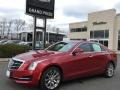 Cadillac ATS Luxury AWD Red Obsession Tintcoat photo #2