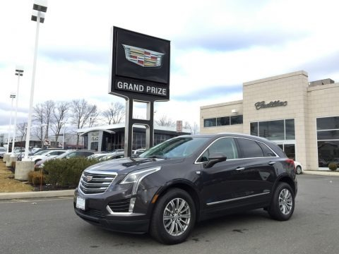 Dark Granite Metallic 2017 Cadillac XT5 Luxury AWD