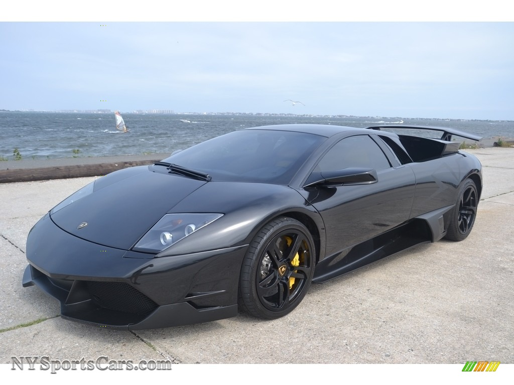 2008 Murcielago LP640 Coupe - Nero Aldebaran / Nero Perseus photo #1