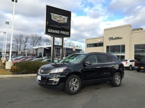 Mosaic Black Metallic 2017 Chevrolet Traverse LT AWD