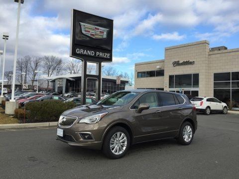 Bronze Alloy Metallic 2017 Buick Envision Preferred AWD