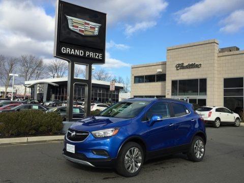 Coastal Blue Metallic 2017 Buick Encore Preferred AWD