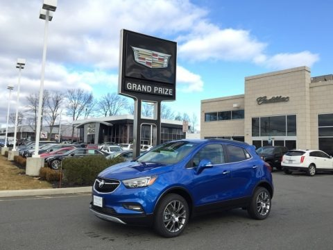 Coastal Blue Metallic 2017 Buick Encore Sport Touring AWD