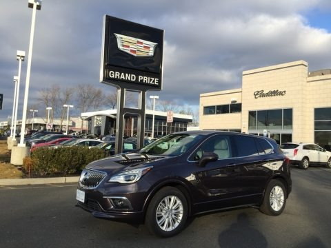 Midnight Amythyst Metallic 2017 Buick Envision Preferred