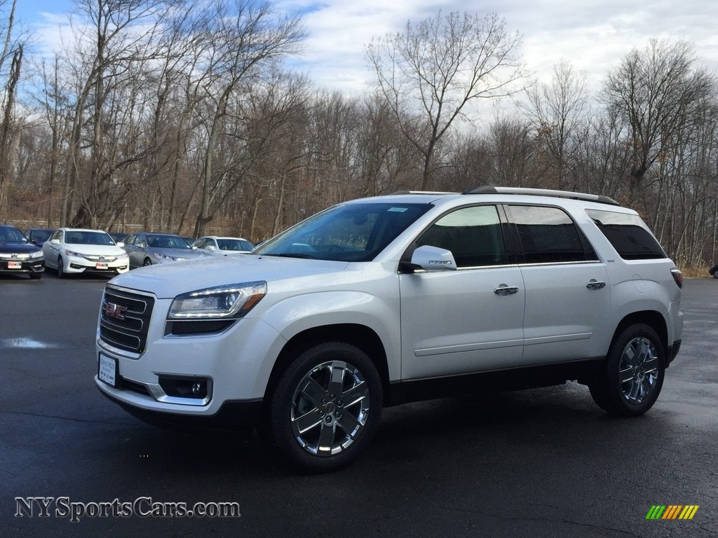 2017 gmc acadia limited awd in white frost tricoat 235693 cars for sale. Black Bedroom Furniture Sets. Home Design Ideas