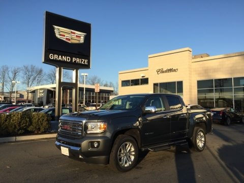 Cyber Gray Metallic 2017 GMC Canyon SLT Crew Cab 4x4