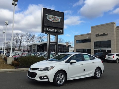 Summit White 2017 Chevrolet Cruze LT