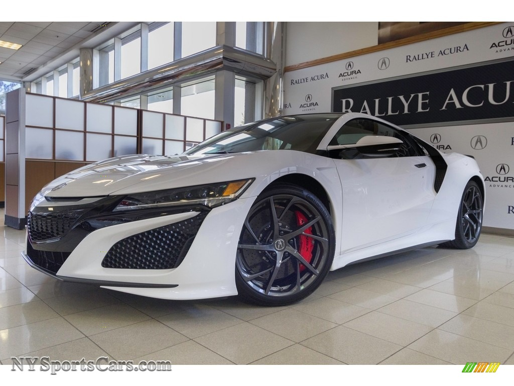 130R White / Red Acura NSX