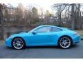 Porsche 911 Carrera 4 Coupe Miami Blue photo #3